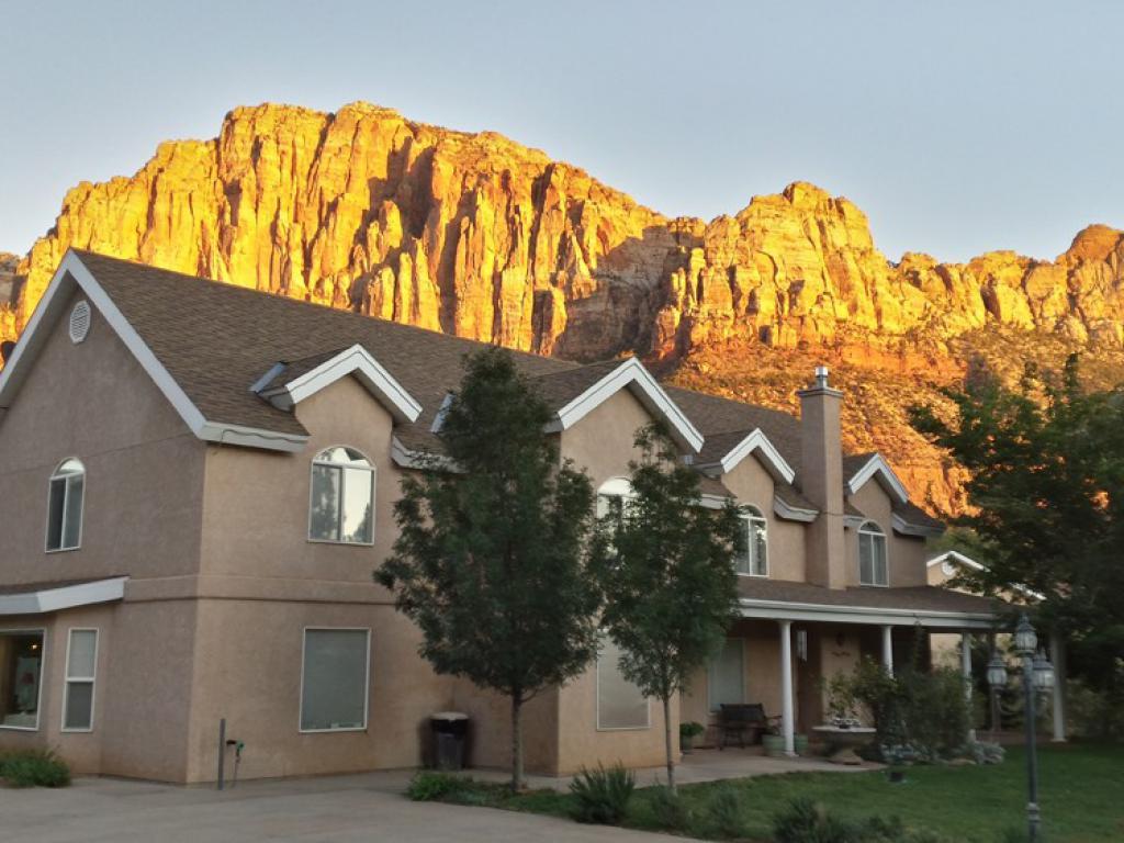 The Novel House Inn near Zion National Park.