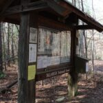 The Nubbin Creek Trailhead in the Talladega National Forest.