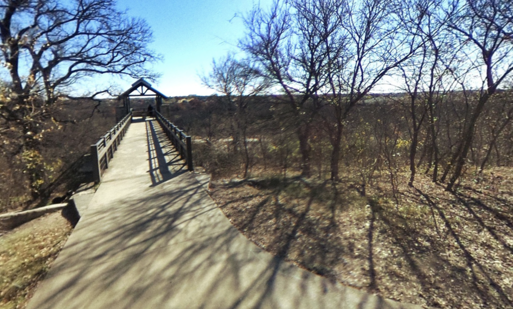The observation town at the Arbor Hills Nature Preserve.