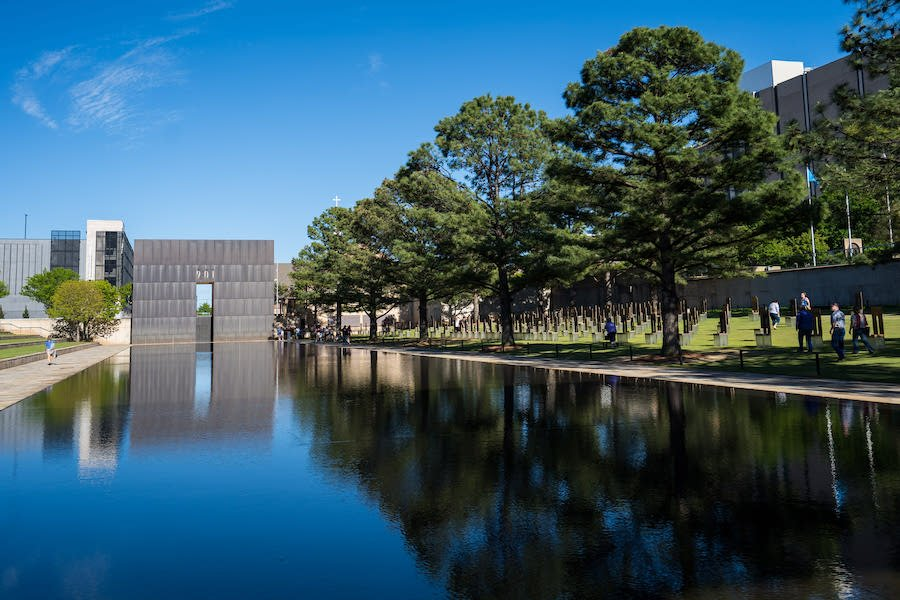 The Oklahoma City National Memorial and Museum.
