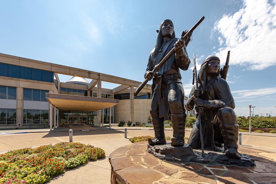 The Oklahoma History Center in Oklahoma City.