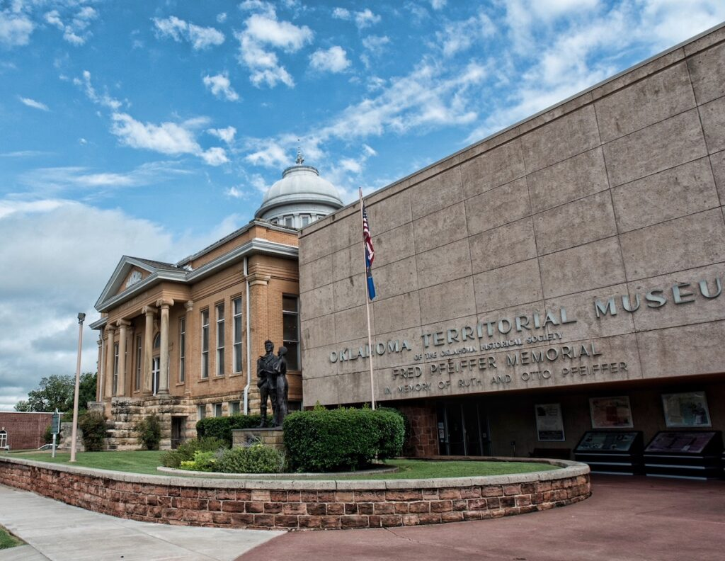 The Oklahoma Territorial Museum, Guthrie.