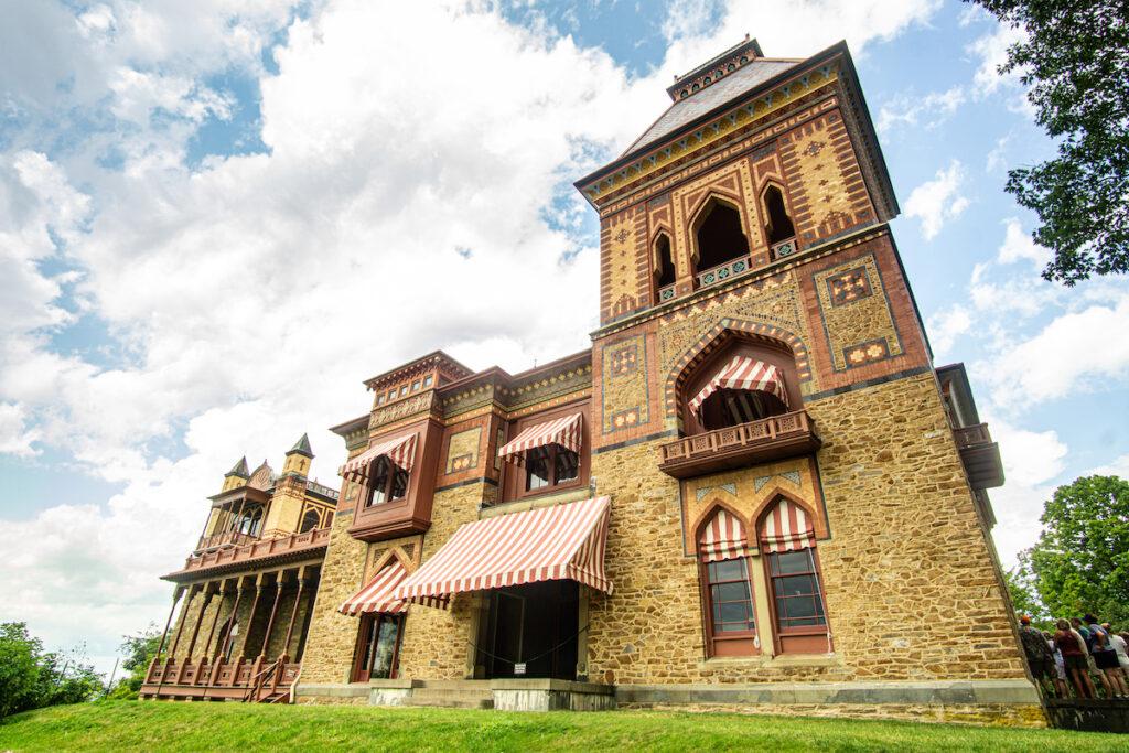 The Olana State Historic Site in Hudson, New. York.