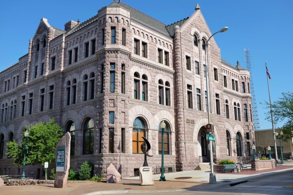 The Old Courthouse Museum in Sioux Falls.