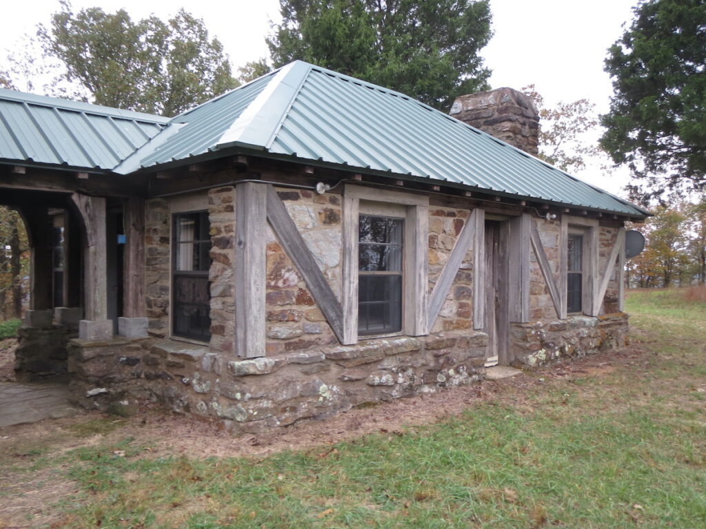 The old Flagg Mountain dining hall.