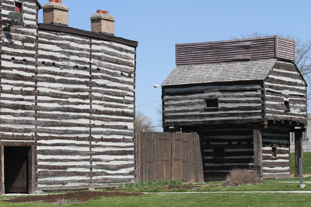 The Old Fort in Fort Wayne, Indiana.