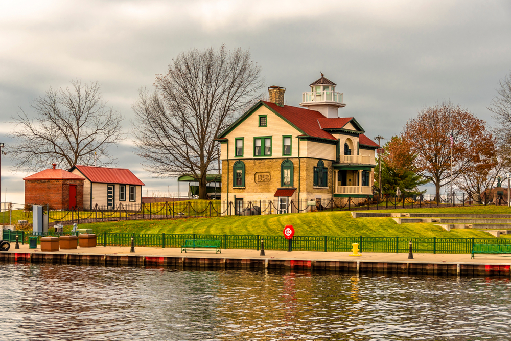 The Old Light Museum in Michigan City, Indiana.