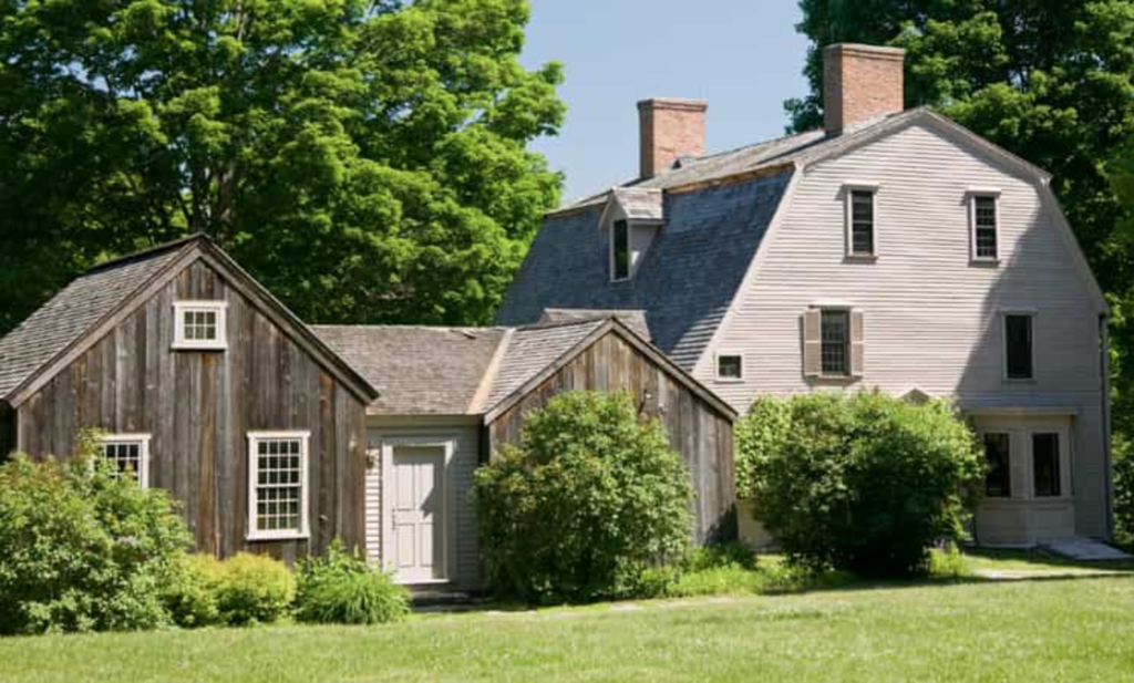 The Old Manse in Concord.