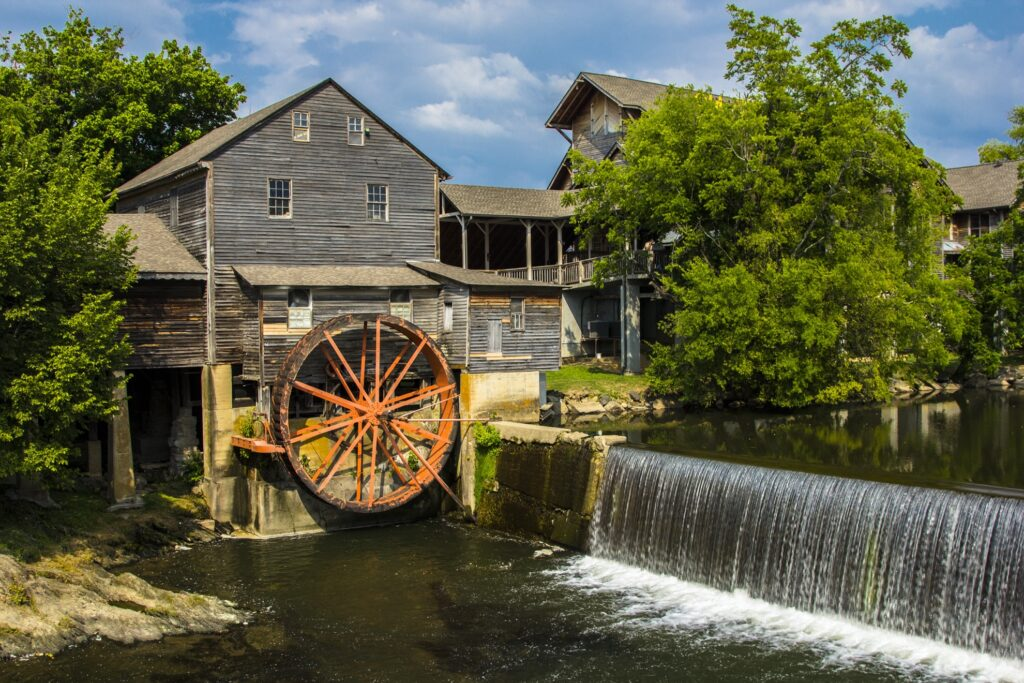 The Old Mill Restaurant in Pigeon Forge.