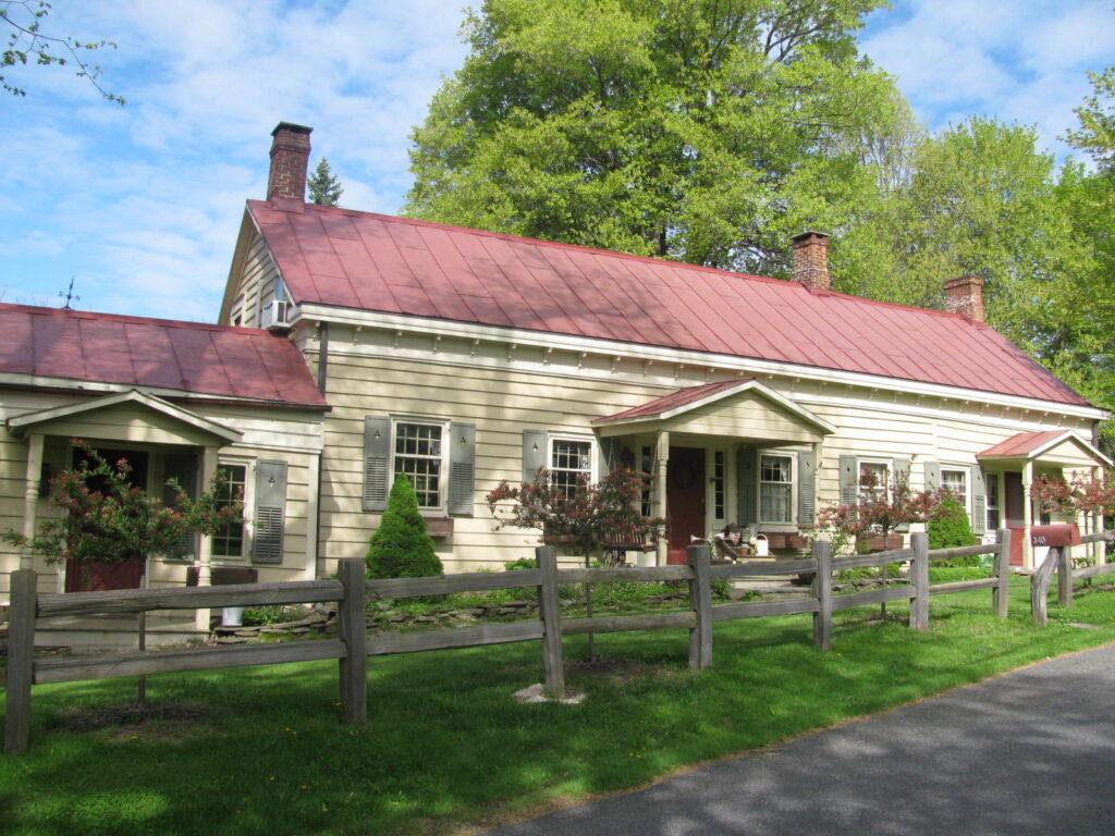 The Old Rhinebeck Inn in New York.