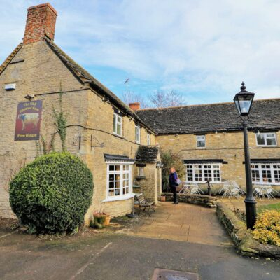 The Old Spotted Cow in Marston Meysey, Wilts, England.