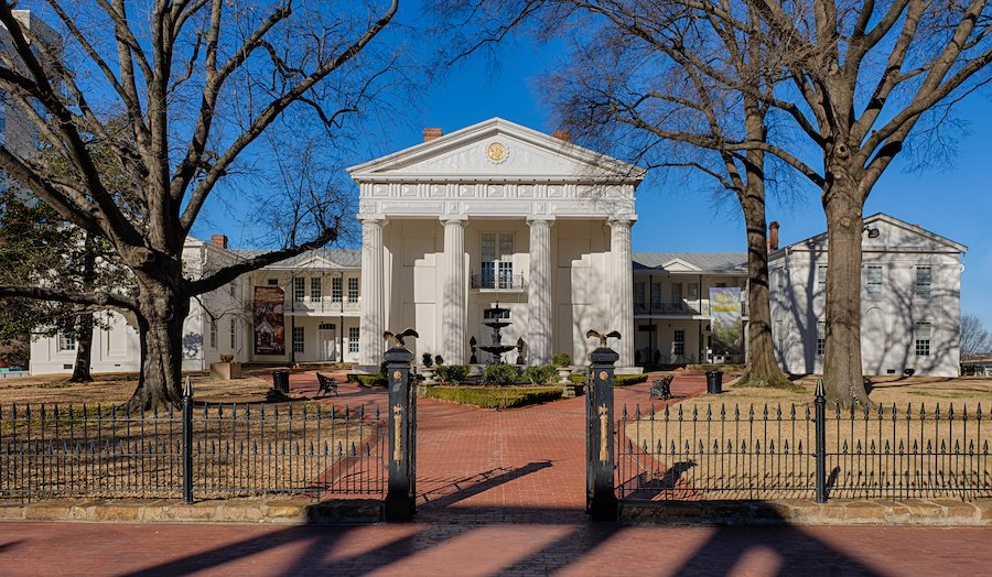 The Old State House in Little Rock.