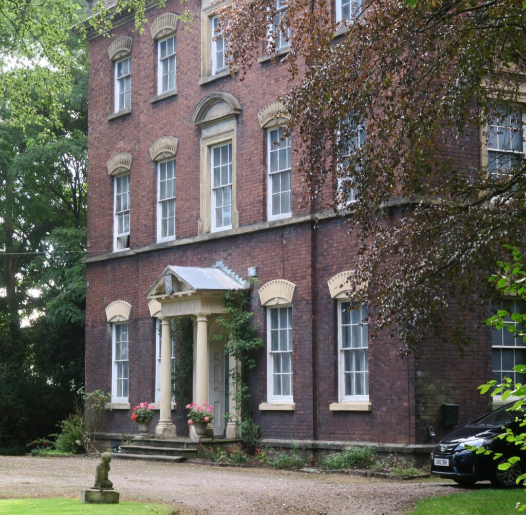 The old Wordsley Manor house.