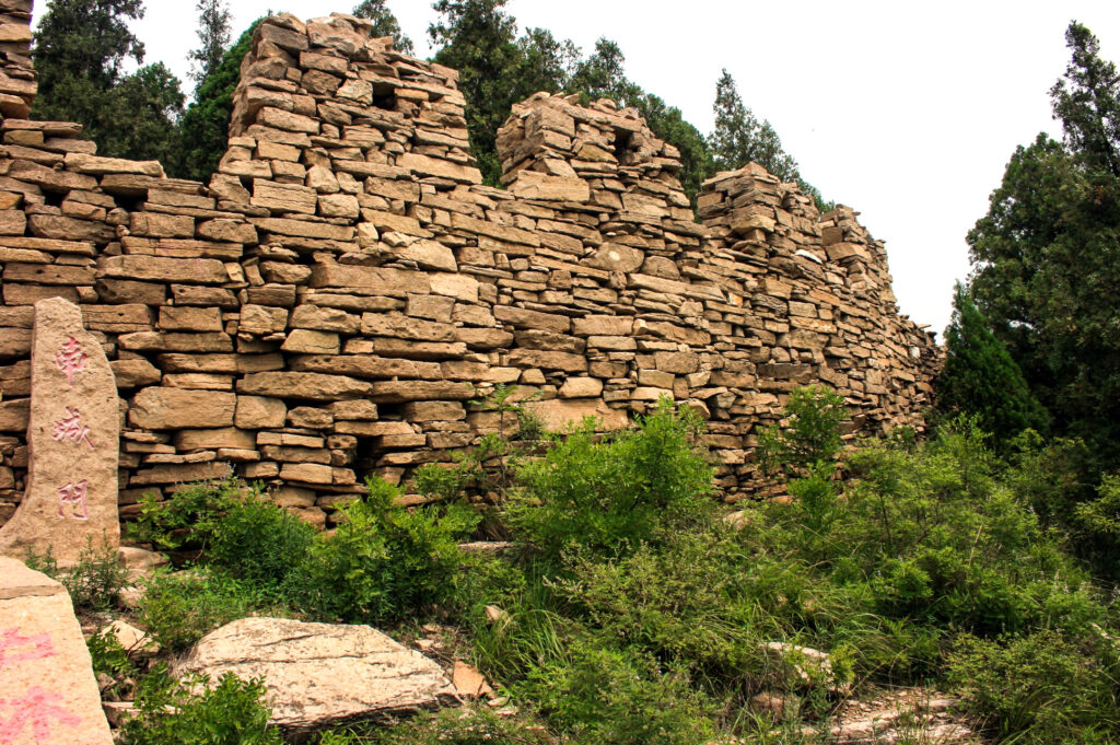 The oldest part of the Great Wall