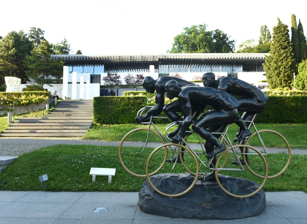 The Olympic Museum in Lausanne.