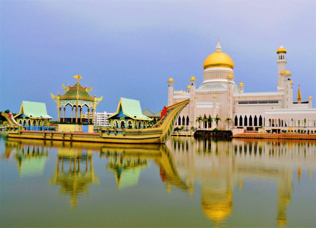 The Omar Mosque in Brunei.