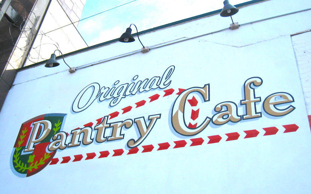 The Original Pantry Cafe in Los Angeles.