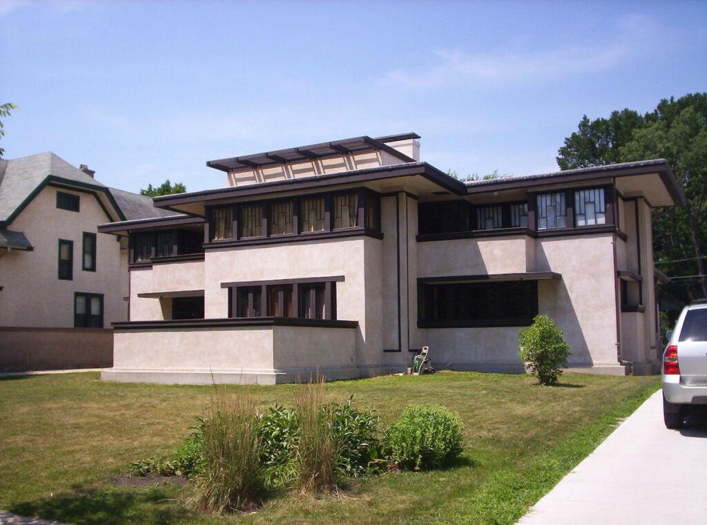 The Oscar B. Balch House in Illinois.