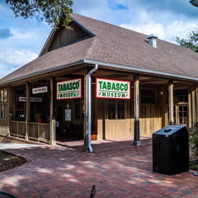 The outside of the Tabasco Museum on Avery Island, Louisiana