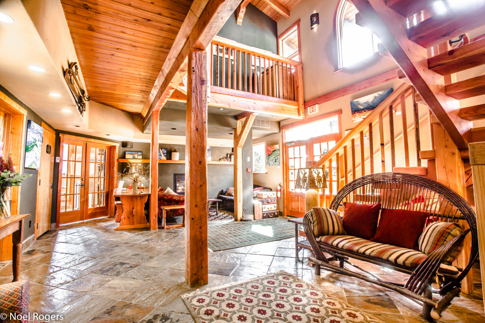 The Paintbox Lodge in Canmore.