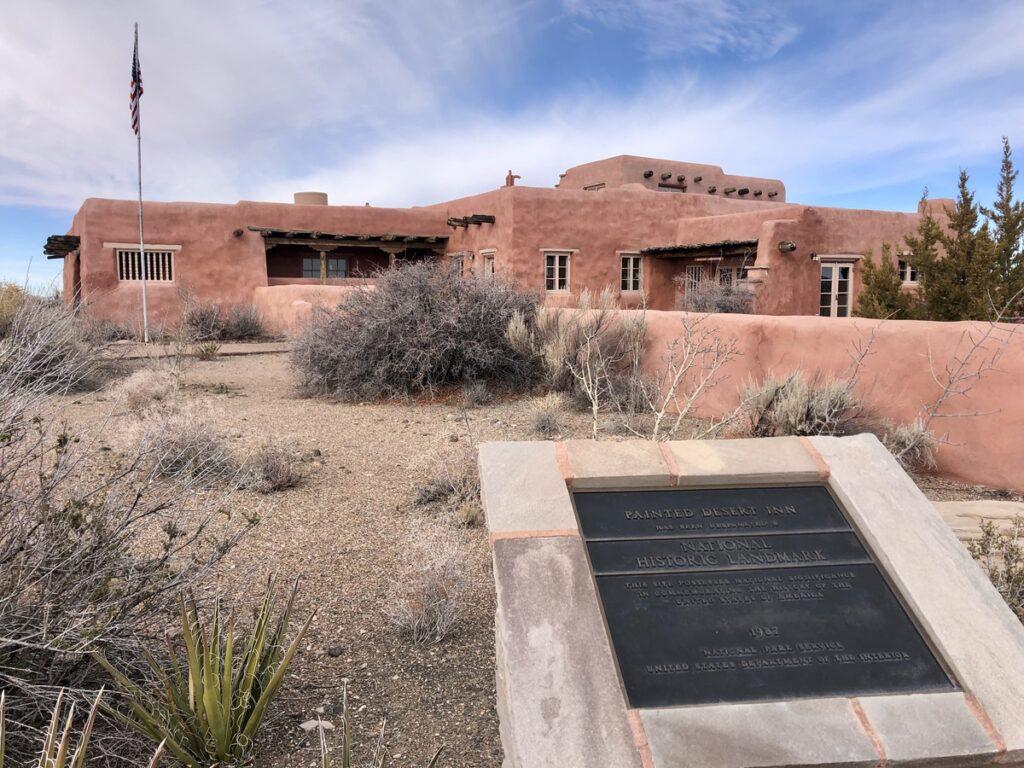 The Painted Desert Inn in Arizona.