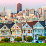 The Painted Ladies in San Francisco, as seen on Full House.