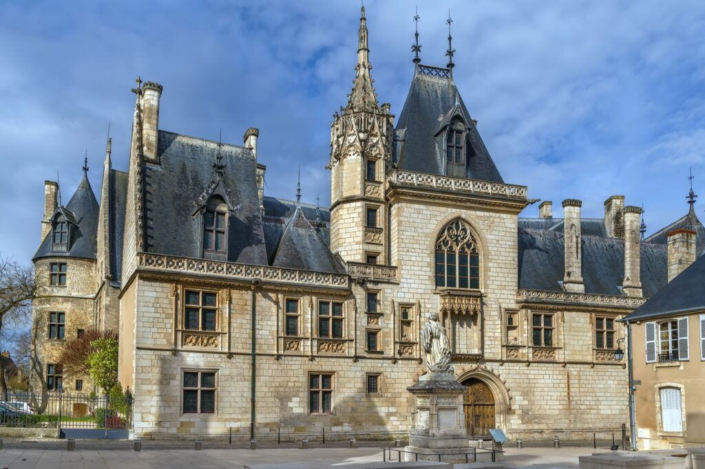 The Palace of Jacques Coeur in Bourges.