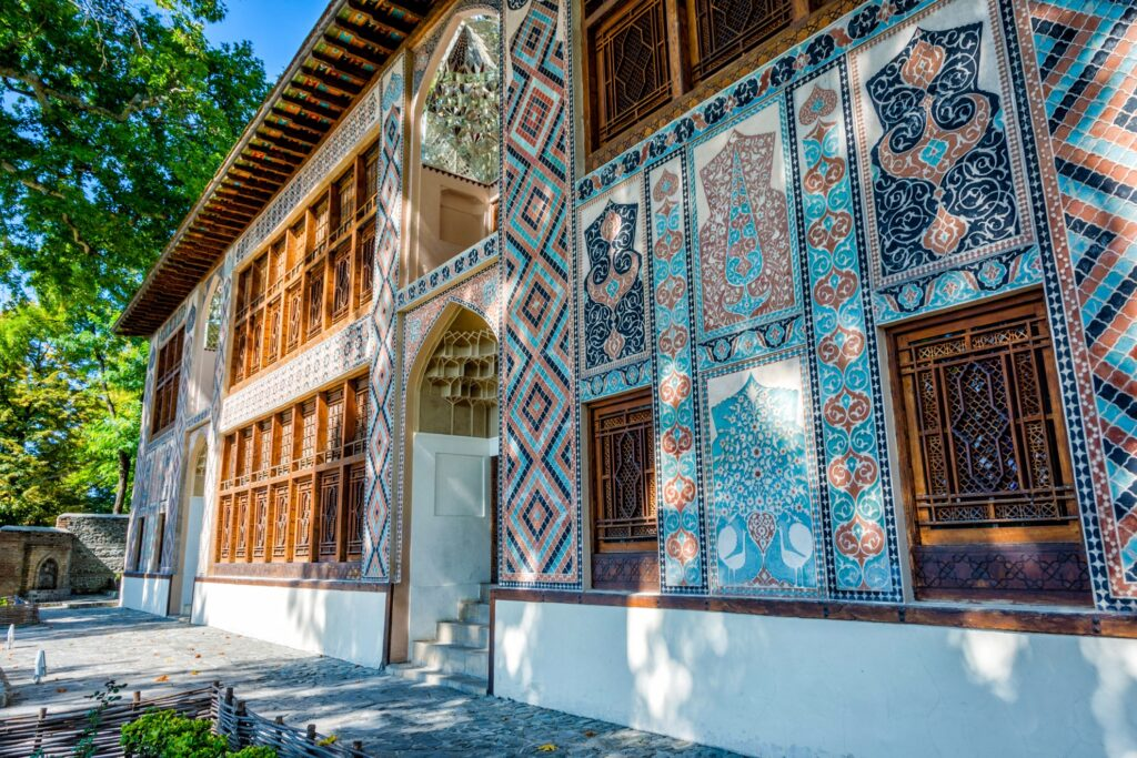 The palace of Khan in Sheki.