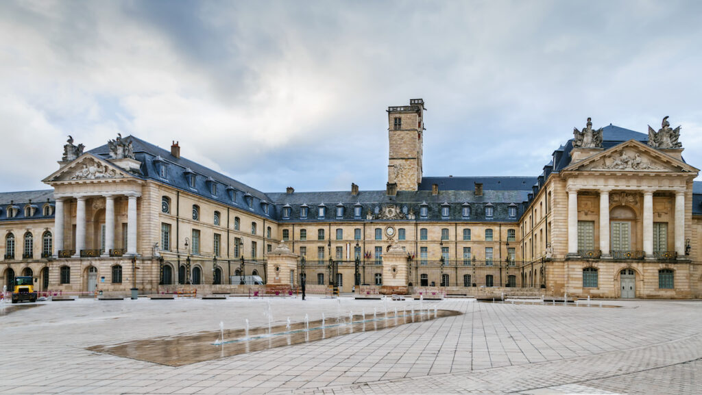 The Palace of the Dukes of Burgundy in Dijon.
