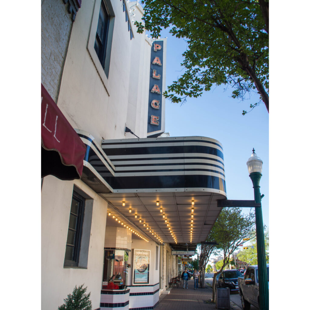 The Palace Theatre in Georgetown, Texas.