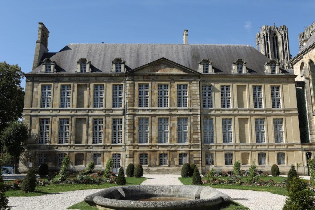 The Palais Du Tau in Reims, France.