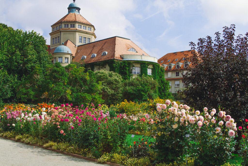 The Palmengarten in Frankfurt, Germany.