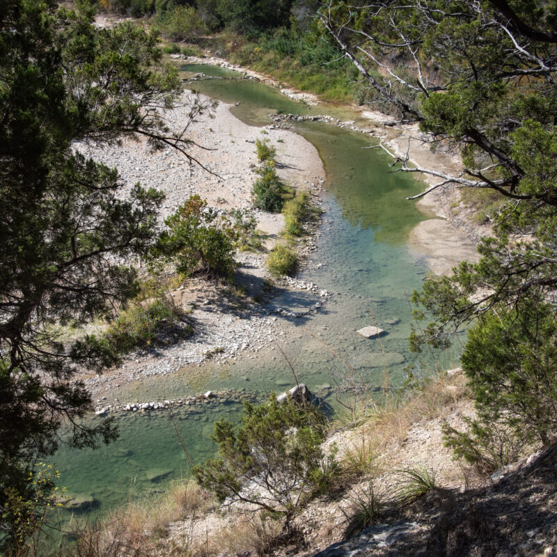 The Paluxy River in Dinosaur Valley State Park, Texas.
