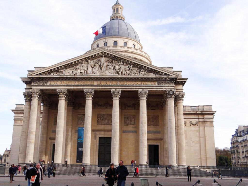 The Panthéon of Paris.