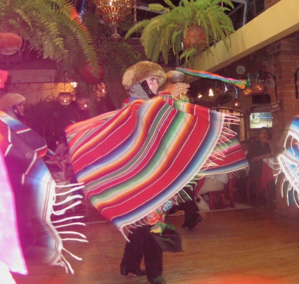 The parachicos at Fiesta Grande De Enero.