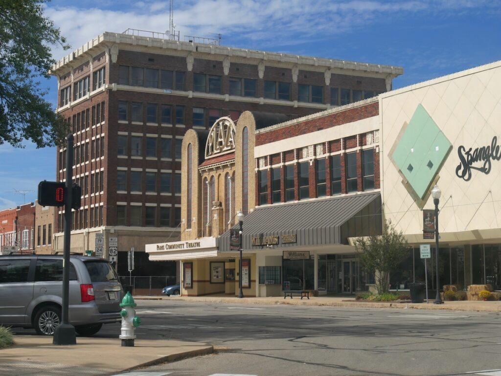 The Paris Community Theatre in Paris, Texas.