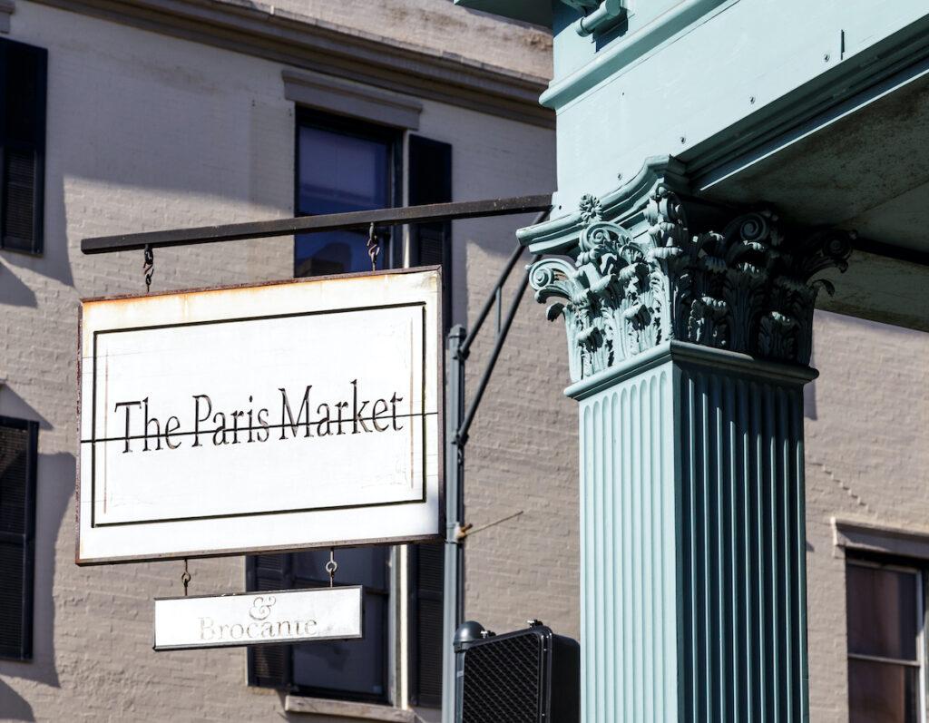 The Paris Market in Savannah, Georgia.