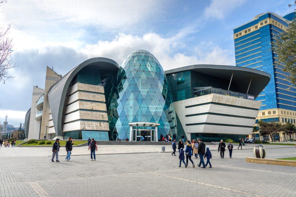 The Park Bulvar shopping center in Baku.