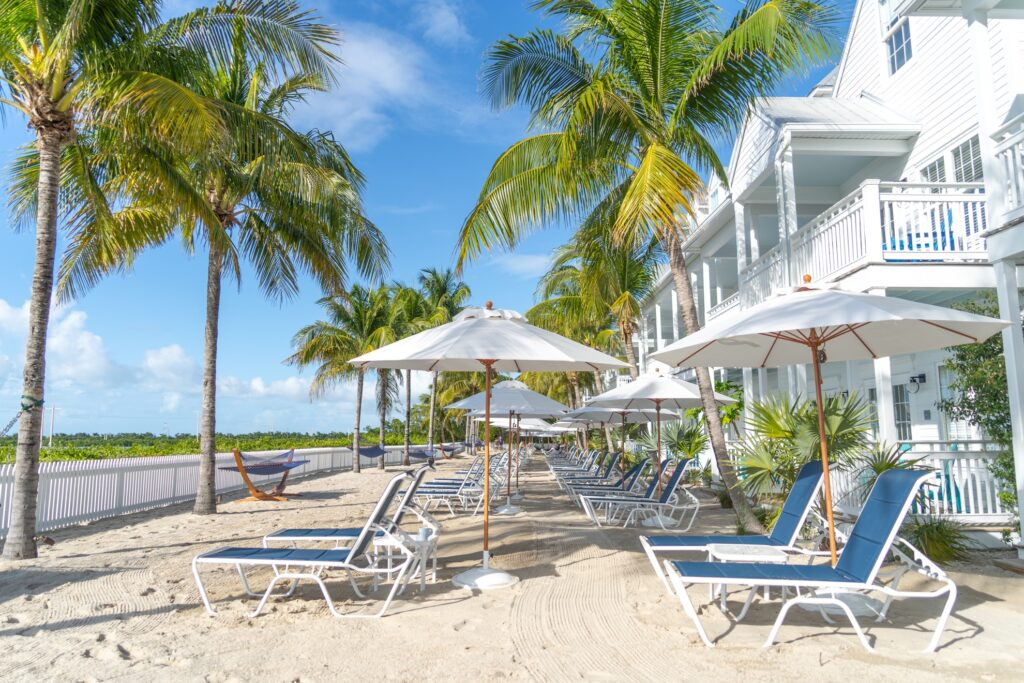 The Parrot Key Hotel and Villas.