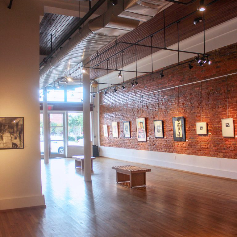 The Paul R. Jones Museum and Gallery.