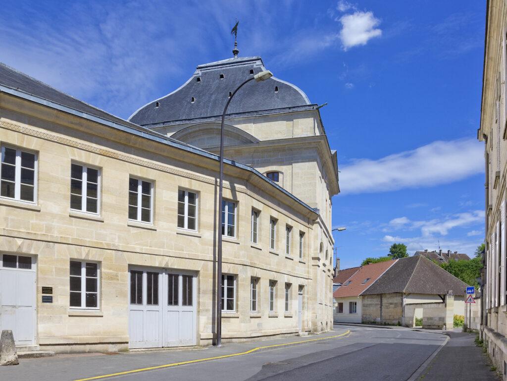 The Pavillon de Manse near the Chateau de Chantilly.