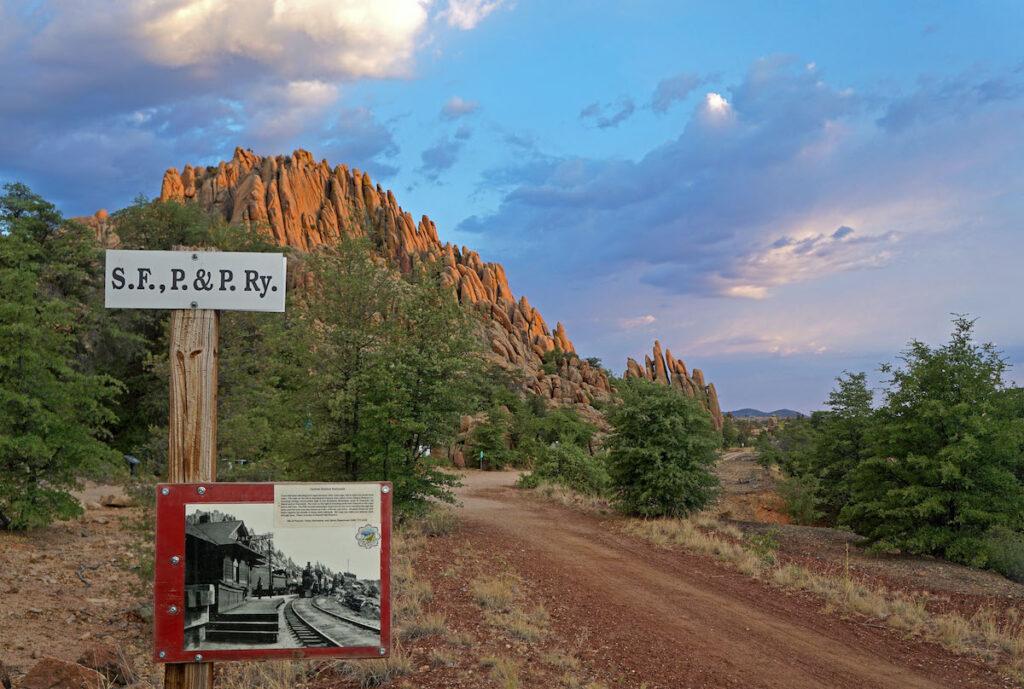 The Peavine National Recreation Trail in Prescott, Arizona.