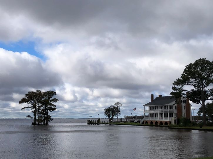 The Penelope Barker House in Edenton, North Carolina.