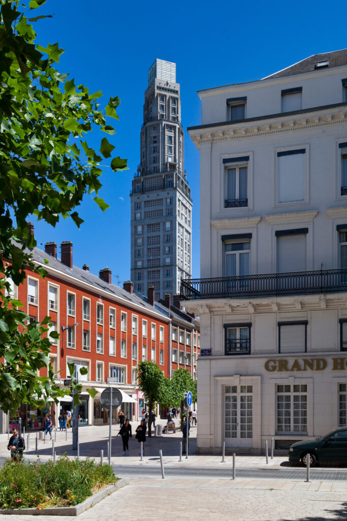 The Perret Tower in Amiens, France.