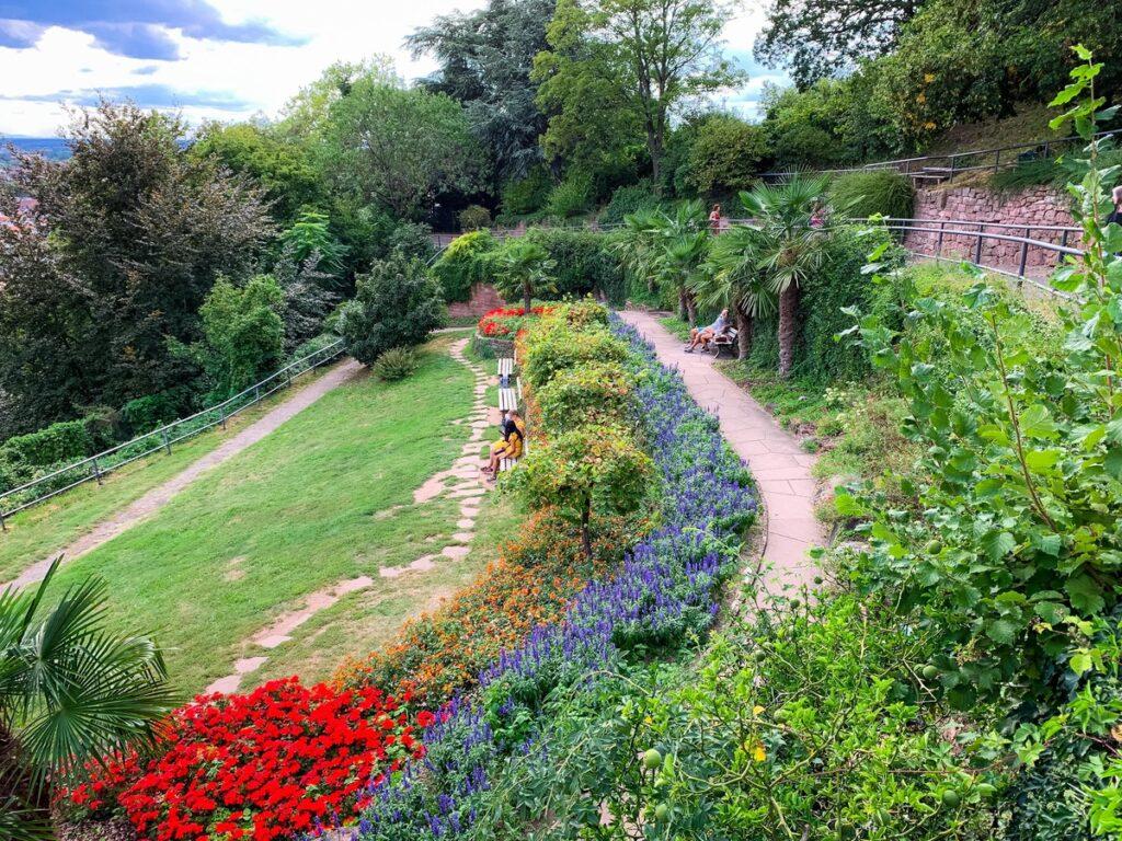 The Philosophers' Garden in Heidelberg.