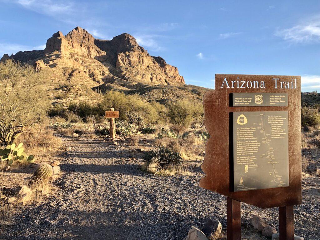 The Picket Post Trailhead in Arizona.