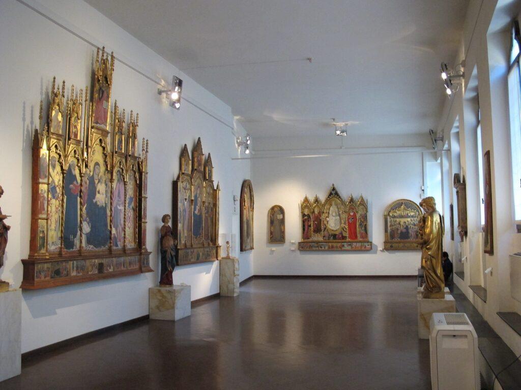 The Pinacoteca Art Museum in Siena.