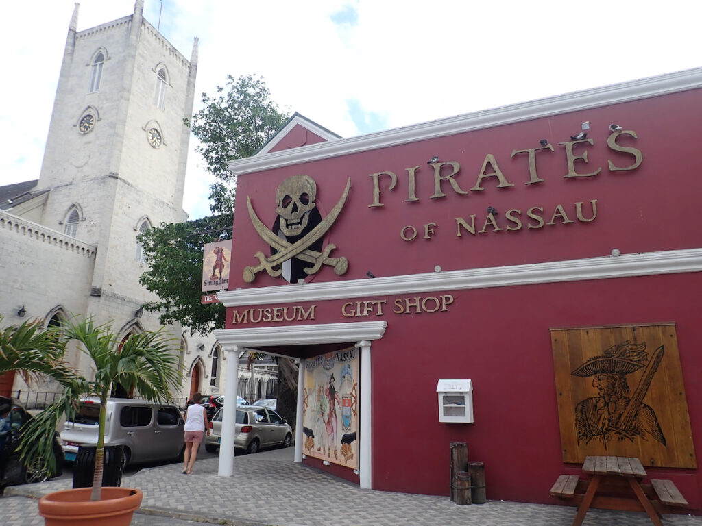 The Pirates of Nassau Museum in the Bahamas.