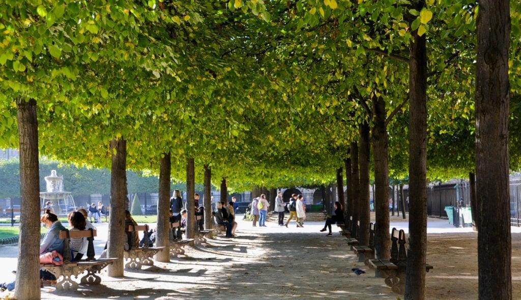 The Place des Vosages in the Le Marais district of Paris.