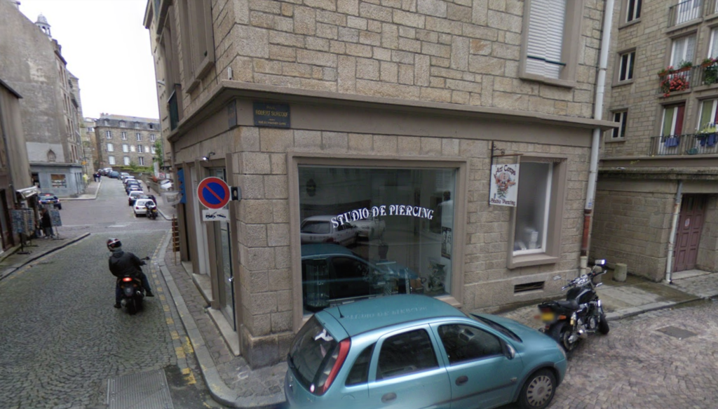 The place where the fictional Bakery would have been.